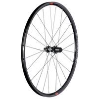 Bontrager Hinterrad Paradigm Comp Disc 142 Shim11 Char/Red - Bike Maniac