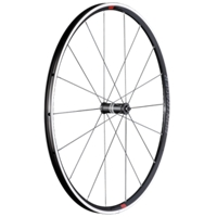Bontrager Vorderrad Paradigm Comp 700 QR5 Charcoal/Red - Bike Maniac