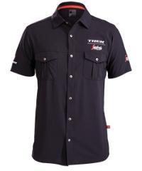Bontrager Shirt Trek/Sega Woven Short Sleeve 2X Black - schneider-sports