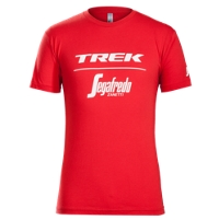 Bontrager Shirt Trek-Segafredo T-Shirt S Red - Bike Maniac