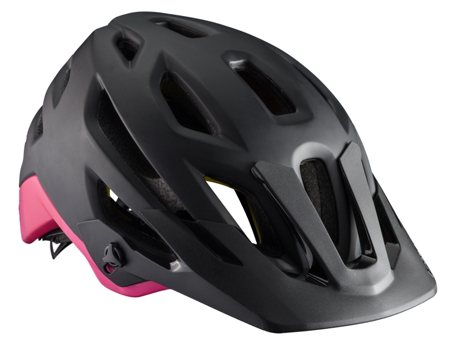 Bontrager Helm Rally Womens MIPS L Black/Pink CE - Bontrager Helm Rally Womens MIPS L Black/Pink CE