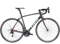 Trek Domane SL 5 56cm Solid Charcoal/Viper Red - Radsport Jachertz