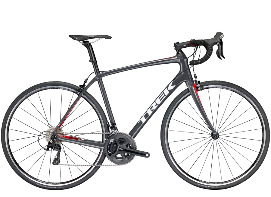 Trek Domane SL 5 52cm Solid Charcoal/Viper Red - Trek Domane SL 5 52cm Solid Charcoal/Viper Red