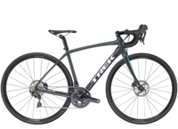 Trek Domane SL 6 Disc Womens 52cm Solid Charcoal/California Sky Blue - Radsport Jachertz