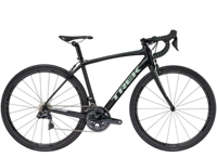 Trek Domane SL 7 Womens 47cm Semigloss Trek Black/Sprintmint - Bike Maniac