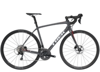Trek Domane SL 5 Disc 50cm Solid Charcoal/Viper Red - Bike Maniac