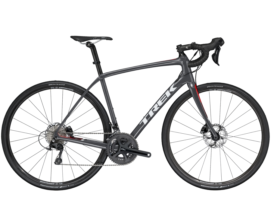 Trek Domane SL 5 Disc 56cm Solid Charcoal/Viper Red - Trek Domane SL 5 Disc 56cm Solid Charcoal/Viper Red