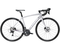 Trek Domane SL 5 Disc Womens 52cm Quicksilver/Dnister Black - Veloteria Bike Shop
