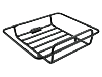 Electra Rack Cruiser Tray Black Front - 2-Rad-Sport Wehrle