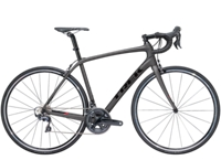 Trek Domane SL 6 56cm Matte Dnister Black/Gloss Trek Black - Radsport Jachertz