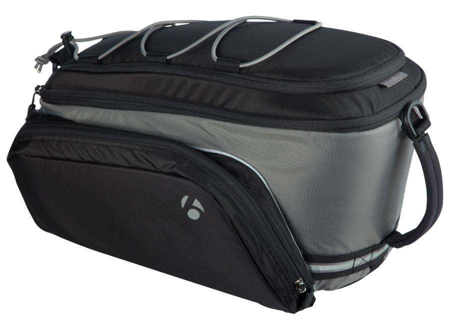 Bontrager Tasche Rack Trunk Deluxe Plus Black - Bontrager Tasche Rack Trunk Deluxe Plus Black