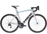 Trek Madone 9.5 60cm Matte Quicksilver/Gloss Blue - Schmiko-Sport Radsporthaus