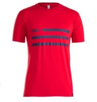 Shirt Trek Flag T-Shirt XL Heather Red - Bike Maniac