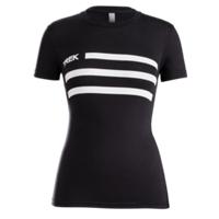 Shirt Trek Flag Womens T-Shirt M Black - Bike Maniac