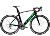 Trek Madone 9.2 50cm Trek Black/Charcoal/Green-P1 - Rennrad kaufen & Mountainbike kaufen - bikecenter.de