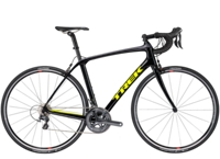 Trek Domane SLR 6 54cm Black/Charcoal/Yellow-P1 - Rennrad kaufen & Mountainbike kaufen - bikecenter.de