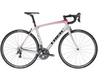 Trek Domane SLR 6 60cm Quicksilver/Viper Red/Black-P1 - Rennrad kaufen & Mountainbike kaufen - bikecenter.de