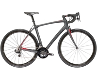 Trek Domane SLR 9 eTap 50cm MatteDnister Black/Viper Red - Veloteria Bike Shop