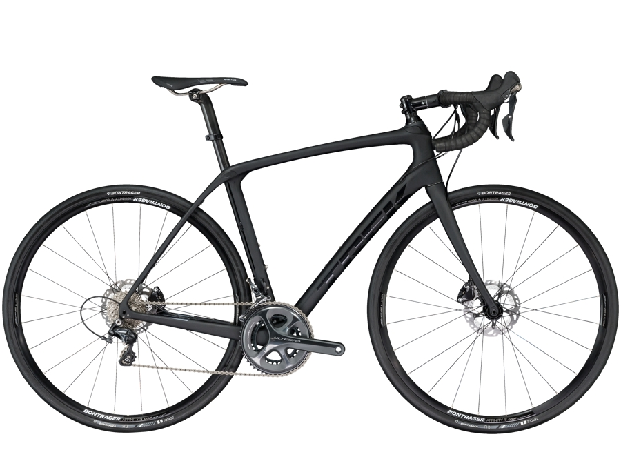 Trek Domane SLR 6 Disc 52cm Matte/Gloss Trek Black - Trek Domane SLR 6 Disc 52cm Matte/Gloss Trek Black