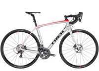 Trek Domane SLR 6 Disc 50cm Quicksilver/Viper Red/Black-P1 - Veloteria Bike Shop