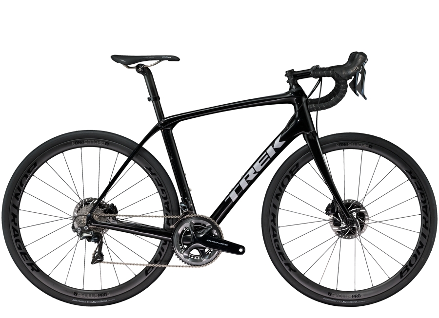 Trek Domane SLR 8 Disc 58cm Trek Black/Quicksilver - Trek Domane SLR 8 Disc 58cm Trek Black/Quicksilver
