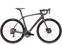Trek Domane SLR 9 Disc 50cm Matte Dnister Black/Viper Red - Veloteria Bike Shop
