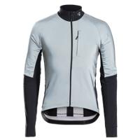 Bontrager Jacket Velocis Reflective Windshell S Black/Grey - Bike Maniac