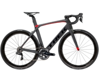 Trek Madone 9.9 58cm Matte Dnister Black/Gloss Viper Red - Veloteria Bike Shop
