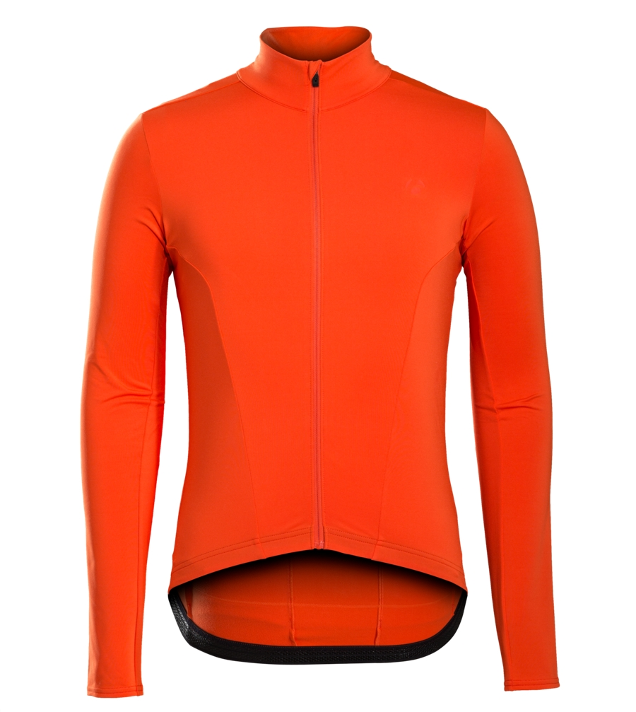 Bontrager Jersy Velocis Thermal LS Large Orange - Bontrager Jersy Velocis Thermal LS Large Orange