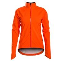 Bontrager Jacket Vella Stormshell Womens X-Small Orange - Bike Maniac