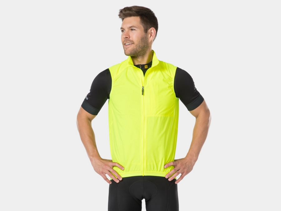 Bontrager Vest Circuit Windshell Medium Fluorescent Yellow - Bontrager Vest Circuit Windshell Medium Fluorescent Yellow