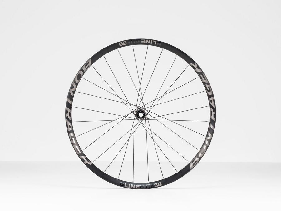 Bontrager Wheel Front LineElite30 27D110 Anthracite/Black - Bontrager Wheel Front LineElite30 27D110 Anthracite/Black