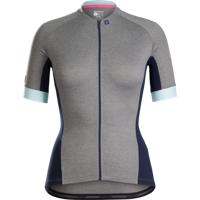 Bontrager Trikot Anara Womens S Charcoal/Sprintmint - Bike Maniac