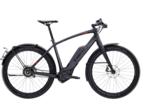 Trek Super Commuter+ 9S 55cm Matte Trek Black - Bikedreams & Dustbikes