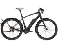 Trek Super Commuter+ 9S 55cm Matte Trek Black - Radsport Jachertz