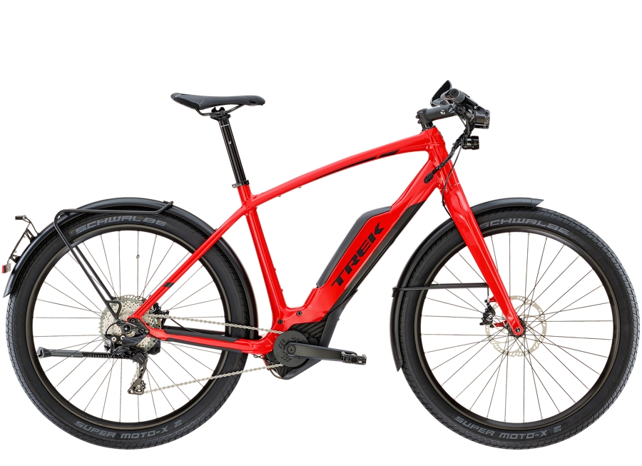 Trek Super Commuter+ 8S 50cm Viper Red - Trek Super Commuter+ 8S 50cm Viper Red