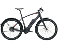 Trek Super Commuter+ 9 45cm Matte Trek Black - Bikedreams & Dustbikes