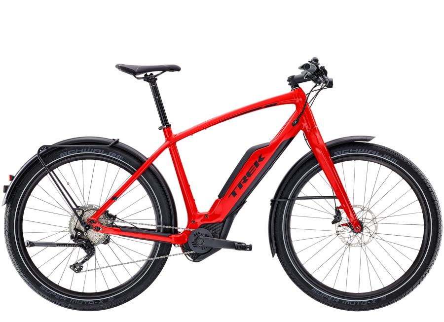 Trek Super Commuter+ 8 55cm Viper Red - Trek Super Commuter+ 8 55cm Viper Red