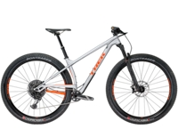 Trek Stache 9.7 17.5 Matte Quicksilver/Gloss Viper Red Roarange - 2-Rad-Sport Wehrle