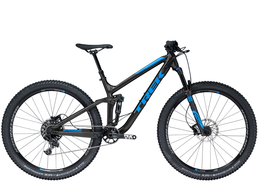 Trek Fuel EX 7 29 17.5 Matte Trek Black/Gloss Waterloo Blue - Trek Fuel EX 7 29 17.5 Matte Trek Black/Gloss Waterloo Blue