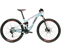 Trek Fuel EX 8 29 15.5 Powder Blue/Viper Red - Bike Maniac
