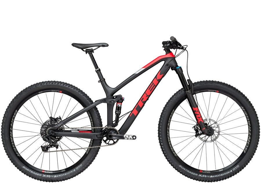Trek Fuel EX 9.7 29 15.5 Matte Trek Black/Viper Red - Trek Fuel EX 9.7 29 15.5 Matte Trek Black/Viper Red