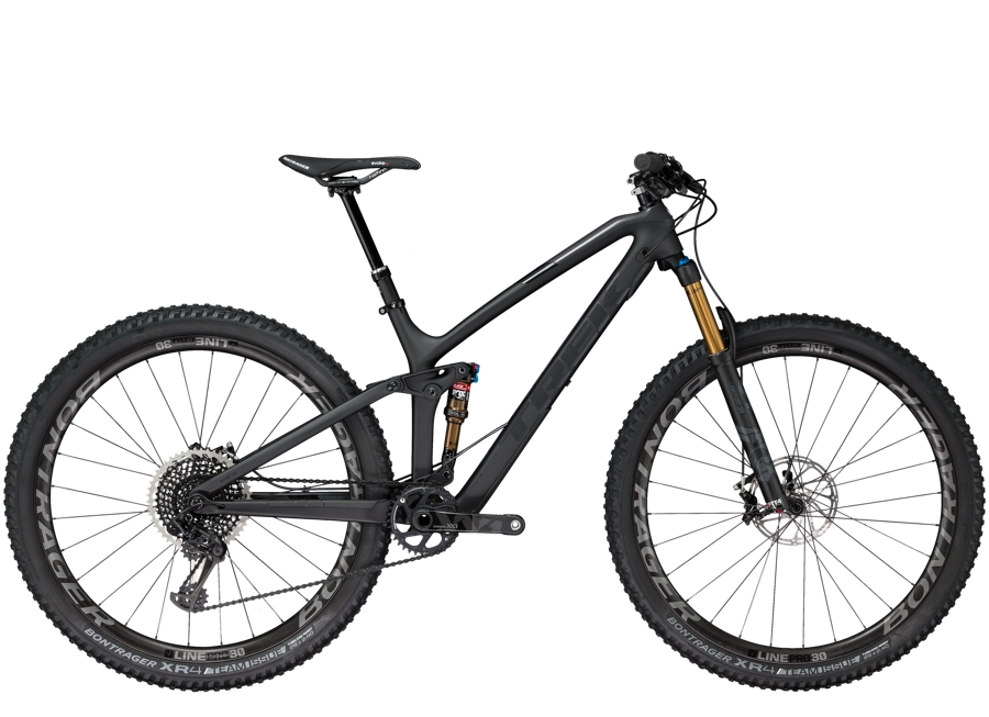 Trek Fuel EX 9.9 29 15.5 Matte Trek Black/Gloss Solid Charcoal - Trek Fuel EX 9.9 29 15.5 Matte Trek Black/Gloss Solid Charcoal