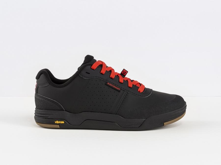 Bontrager Schuh Flatline Mens 48 Black - Bontrager Schuh Flatline Mens 48 Black