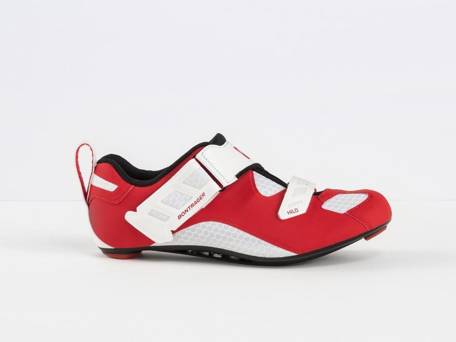 Bontrager Schuh Hilo Mens 43 Red/White - Bontrager Schuh Hilo Mens 43 Red/White