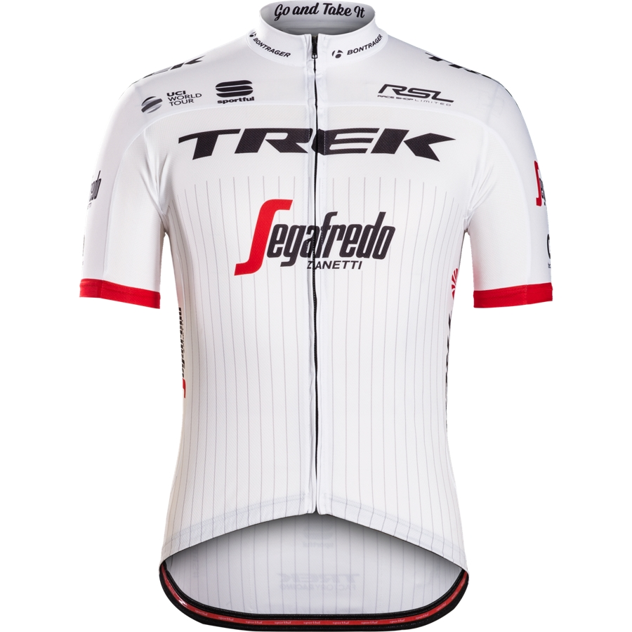 Trikot Sportful Trek-Segafredo Replica Black/White - Trikot Sportful Trek-Segafredo Replica Black/White