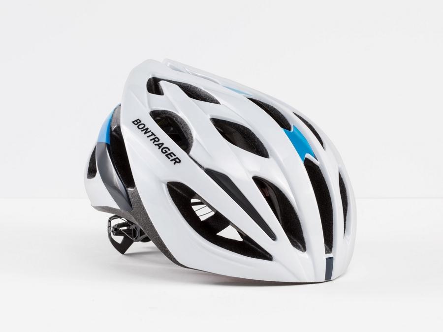 Bontrager Helmet Starvos MIPS White/Blue Medium CE - Bontrager Helmet Starvos MIPS White/Blue Medium CE