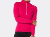 Bontrager Trikot Vella Thermal Long Sleeve XS Vice Pink - Bike Maniac