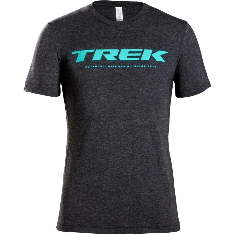 Shirt Trek Waterloo Tee XL Dark Grey/Teal - Shirt Trek Waterloo Tee XL Dark Grey/Teal