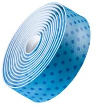Bontrager Lenkerband Gel Cork Dots Blue - Bike Maniac